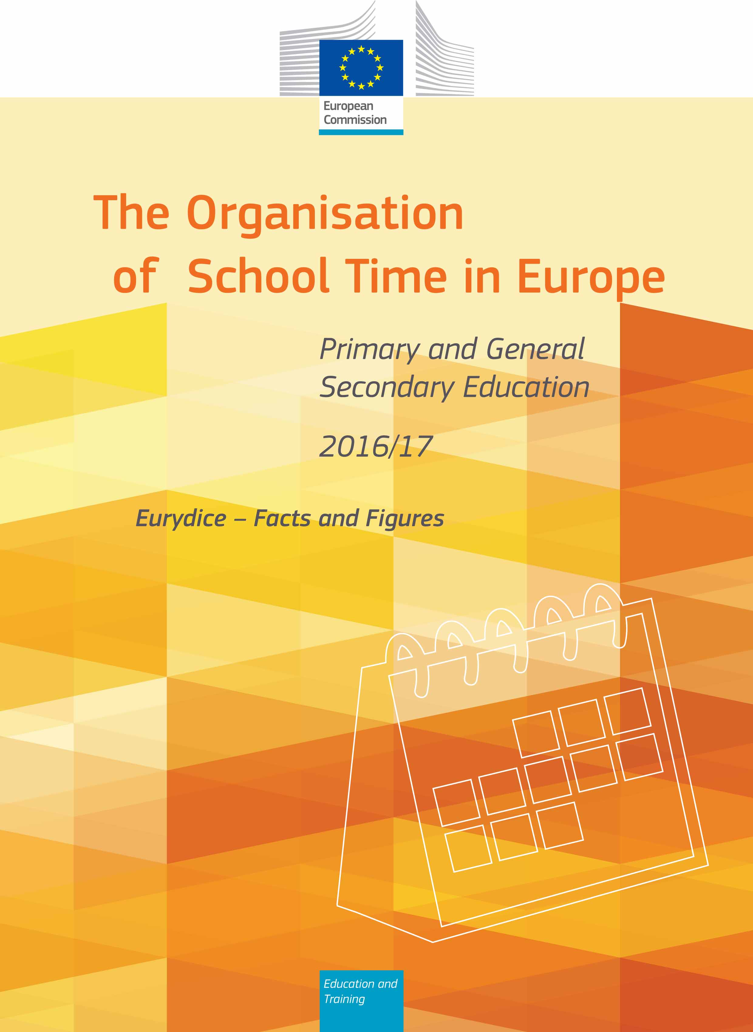 The Organisation of School Time in Europe. Primary and General S