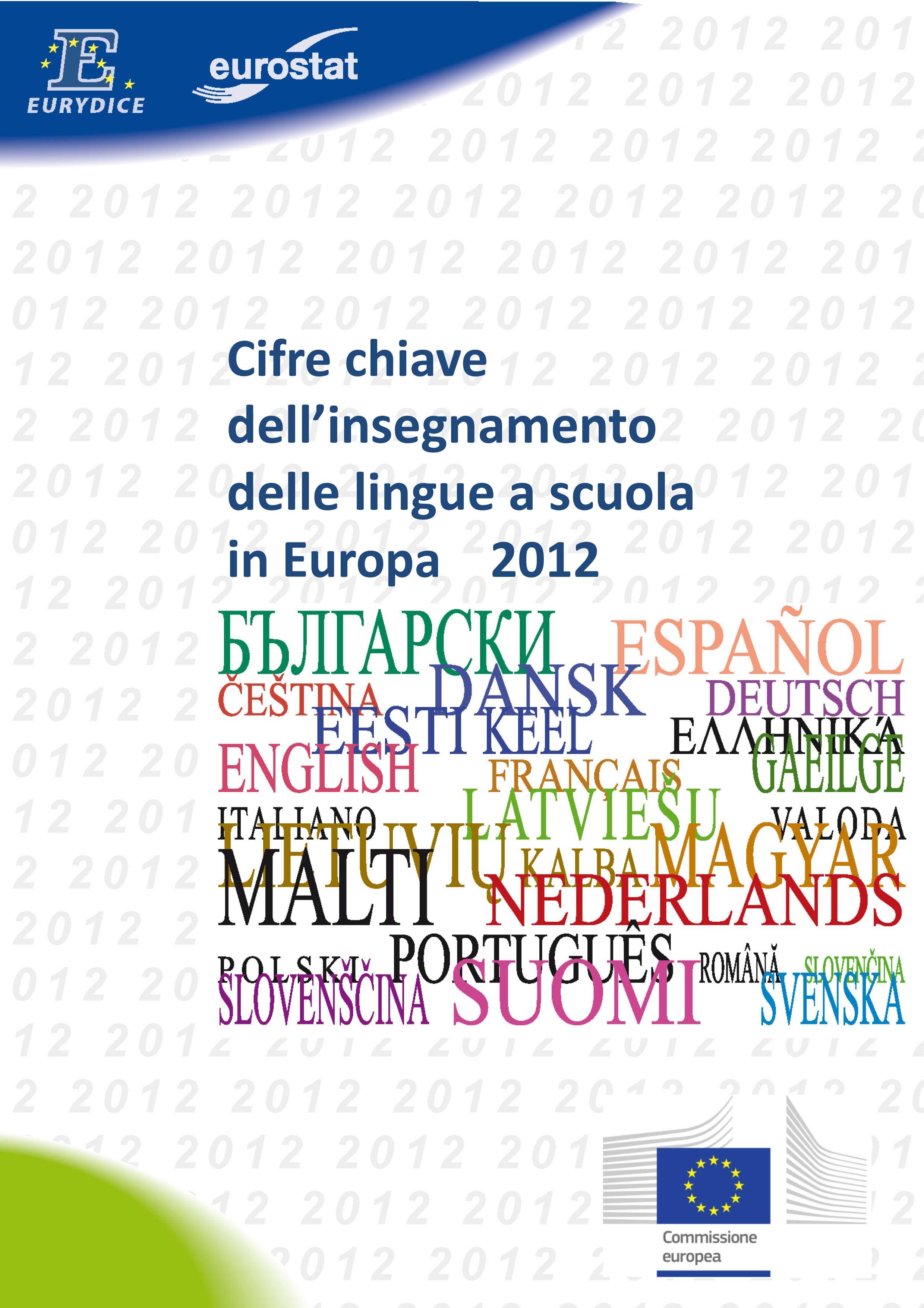 Cifre chiave dell'insegnamento delle lingue a scuola in Europa