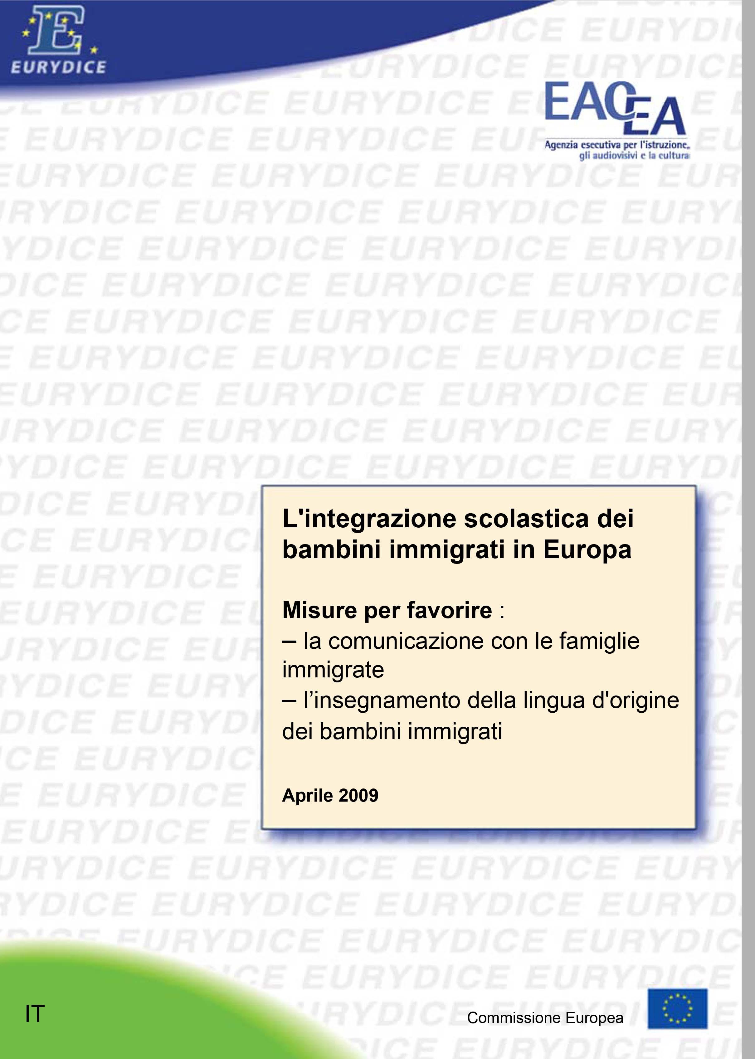 L'integrazione scolastica dei bambini immigrati in Europa