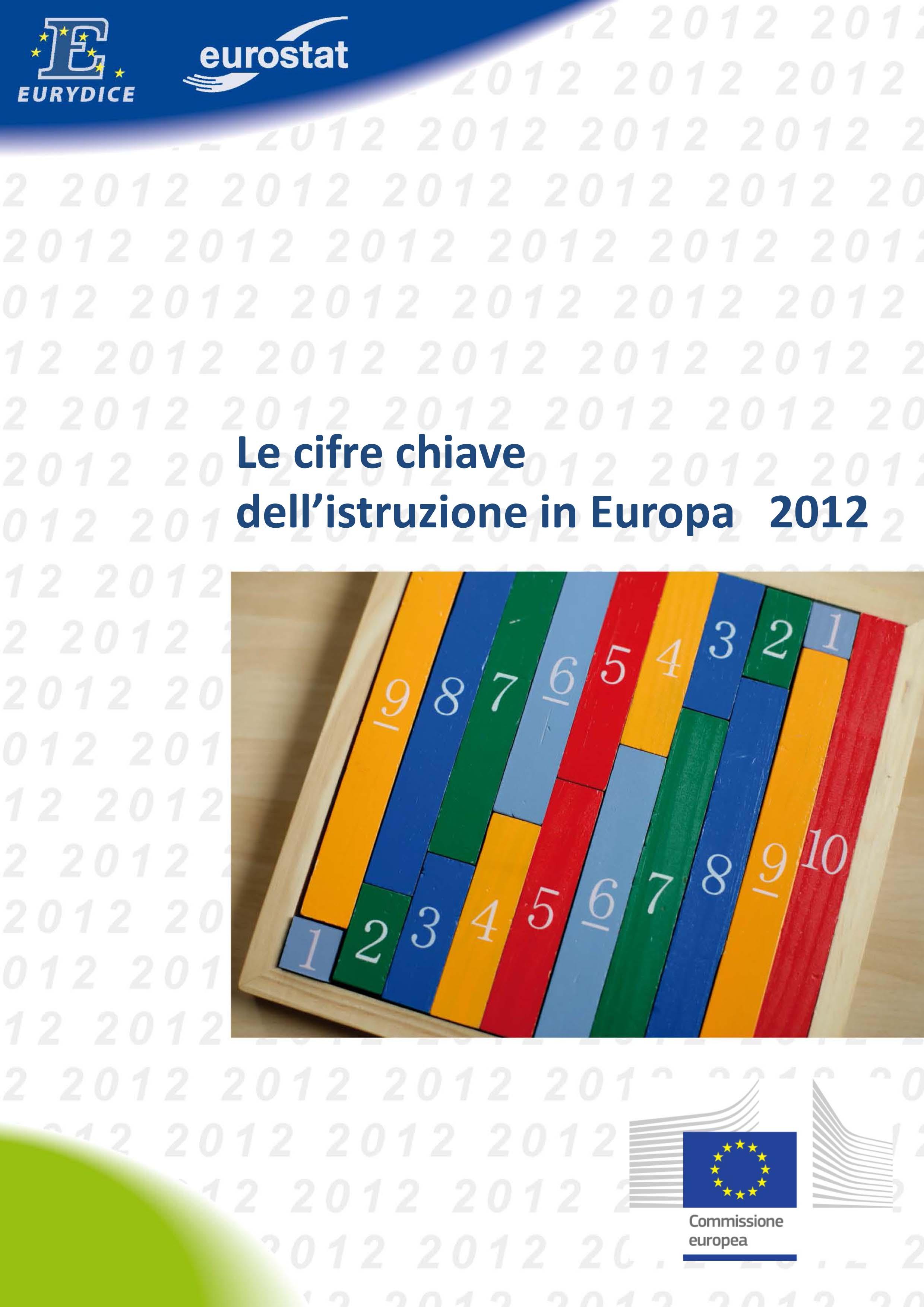 Le cifre chiave dell'istruzione in Europa 2012