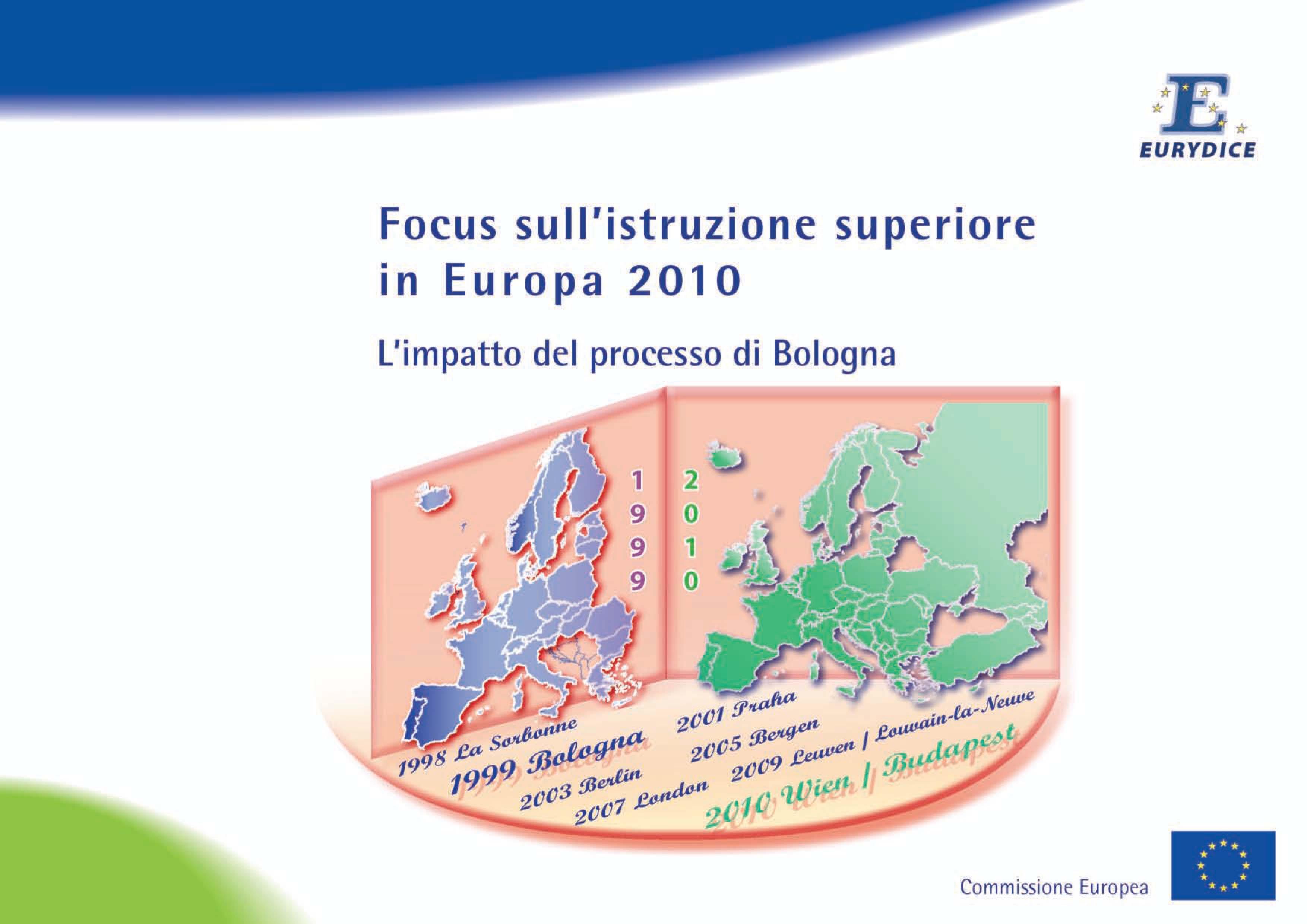 Focus sull'istruzione superiore in Europa 2010: l'impatto de