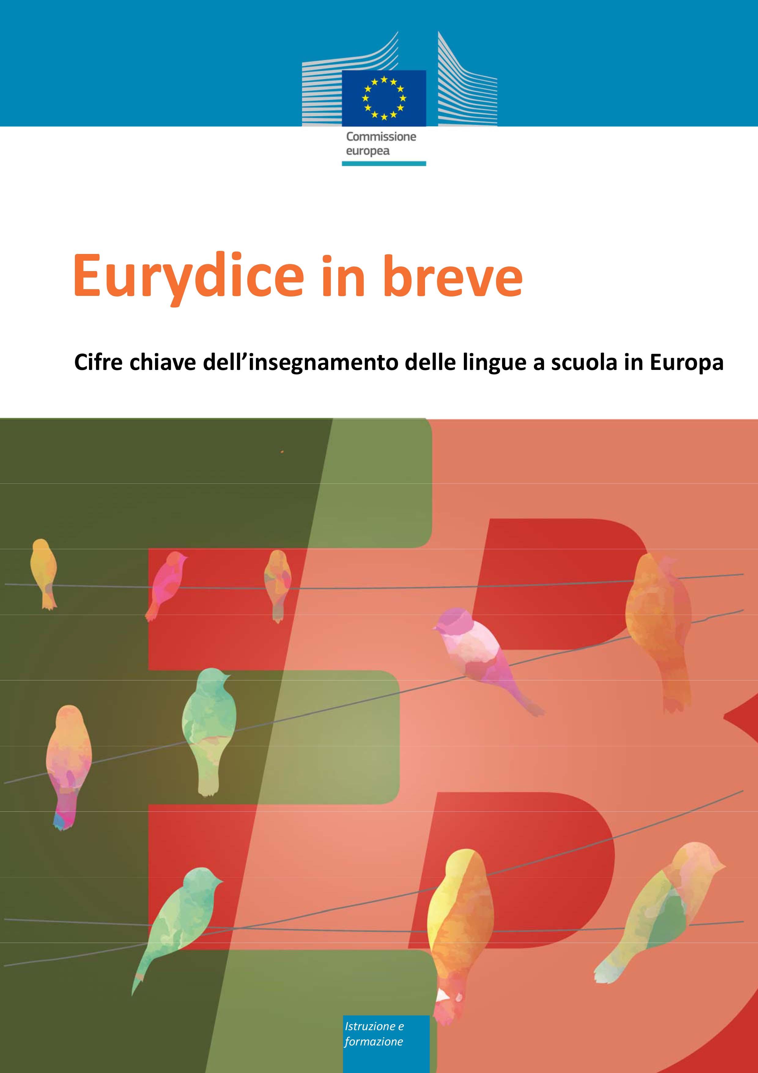Eurydice in breve: Cifre chiave dell'insegnamento delle lingue