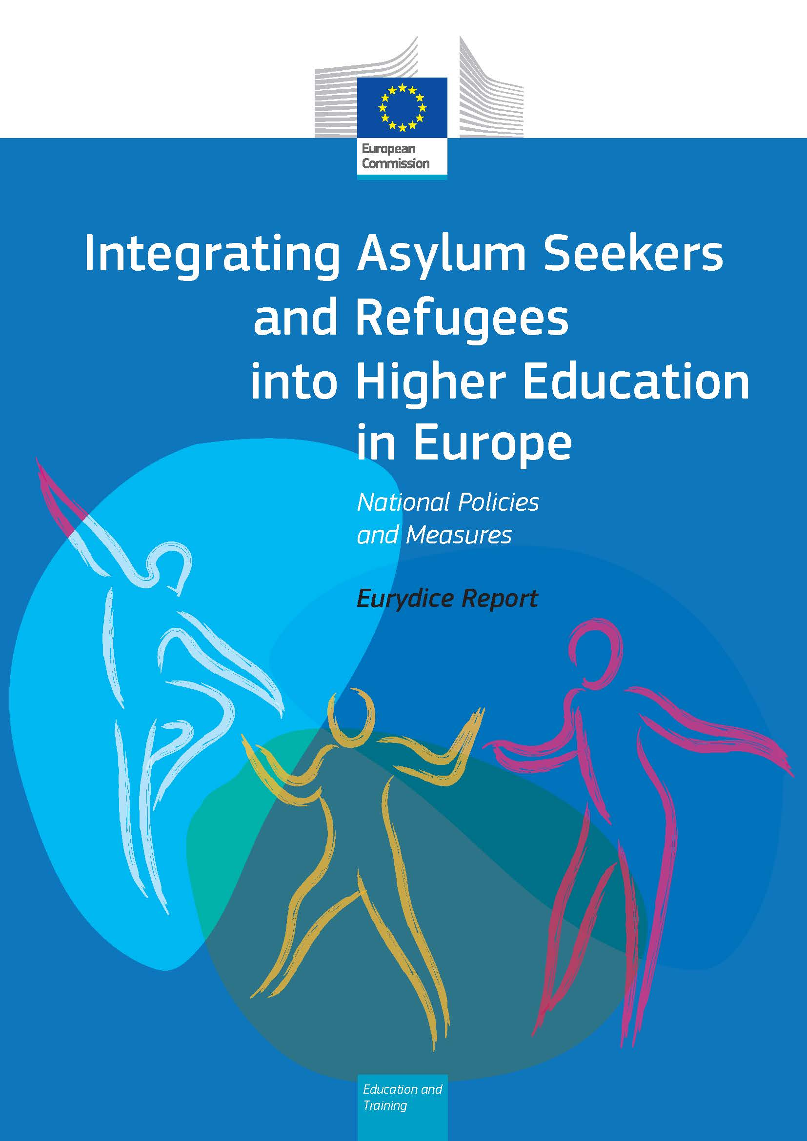Integrating Asylum Seekers and Refugees into Higher Education in Europe_ National Policies and Measures  - Cover_Pagina_1